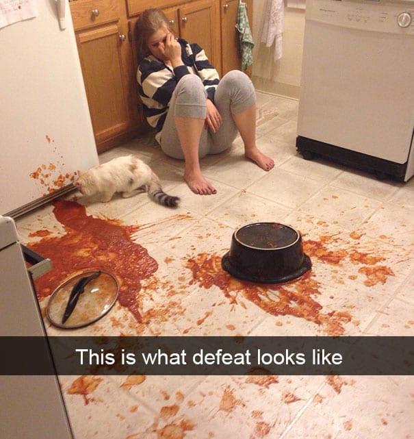 defeat sauce
