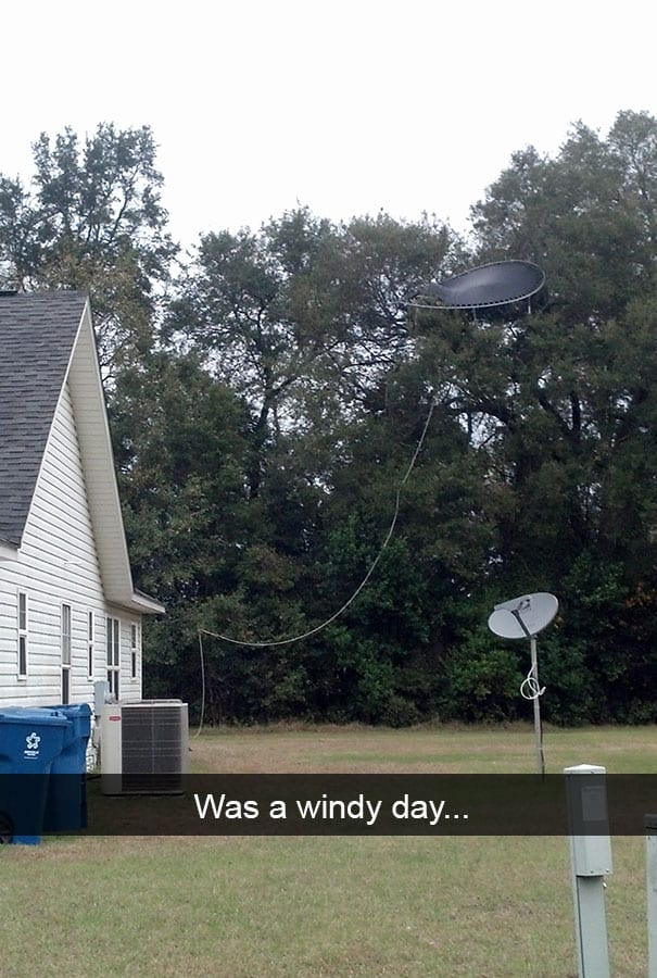 hilarious snapchat fails trampoline windy day