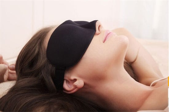 how to beat jet lag sleeping mask