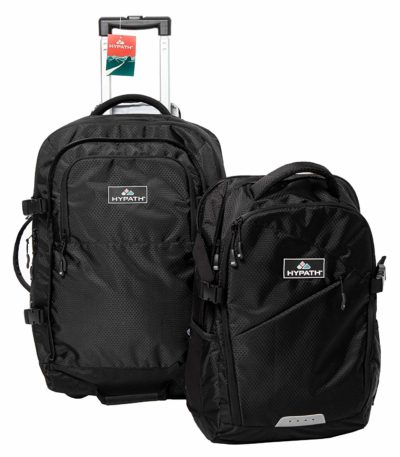 hypath carry on backpack with wheels