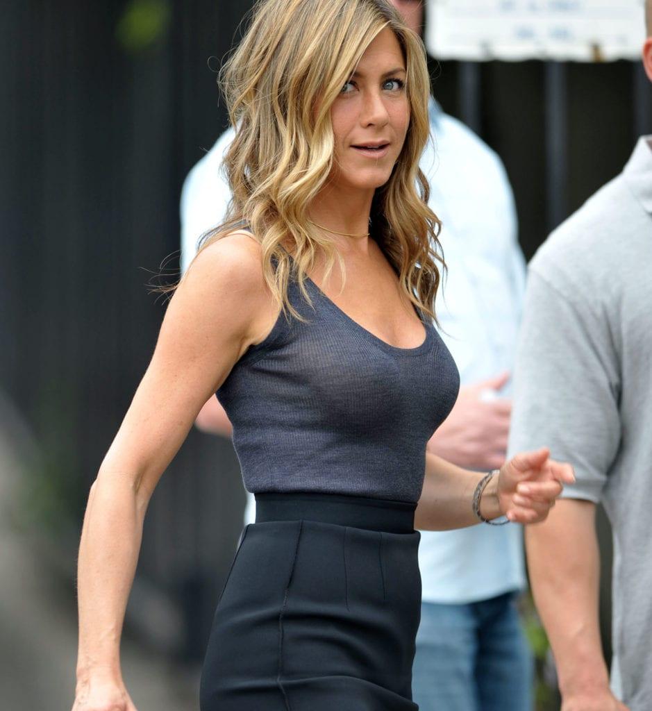 ennifer Aniston most fit celebrity women