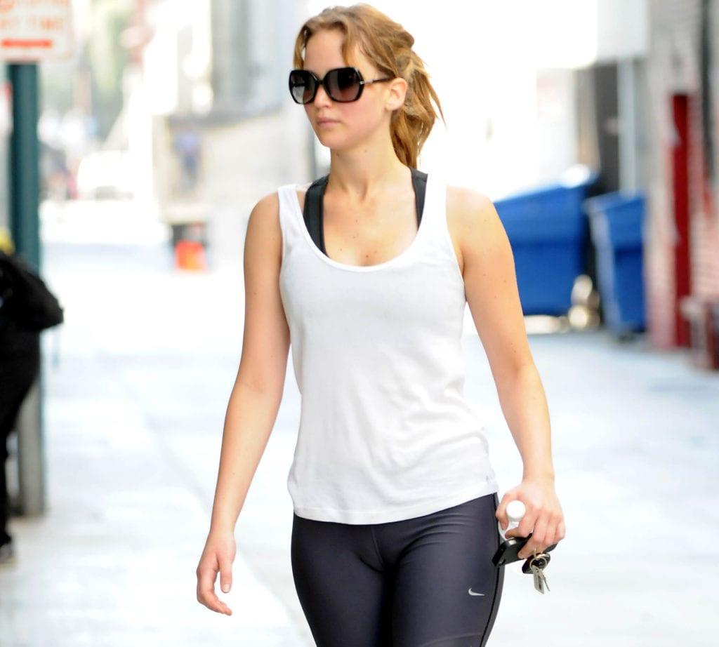 Jennifer Lawrence most fit celebrity women