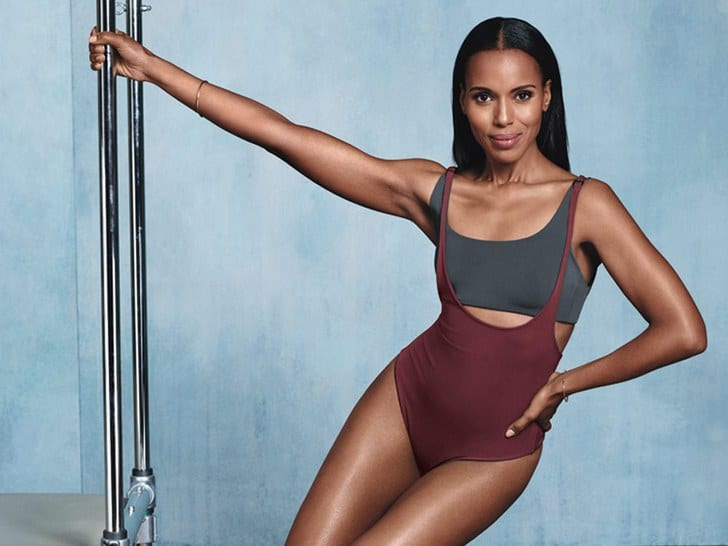 kerry washington most fit celebrity women