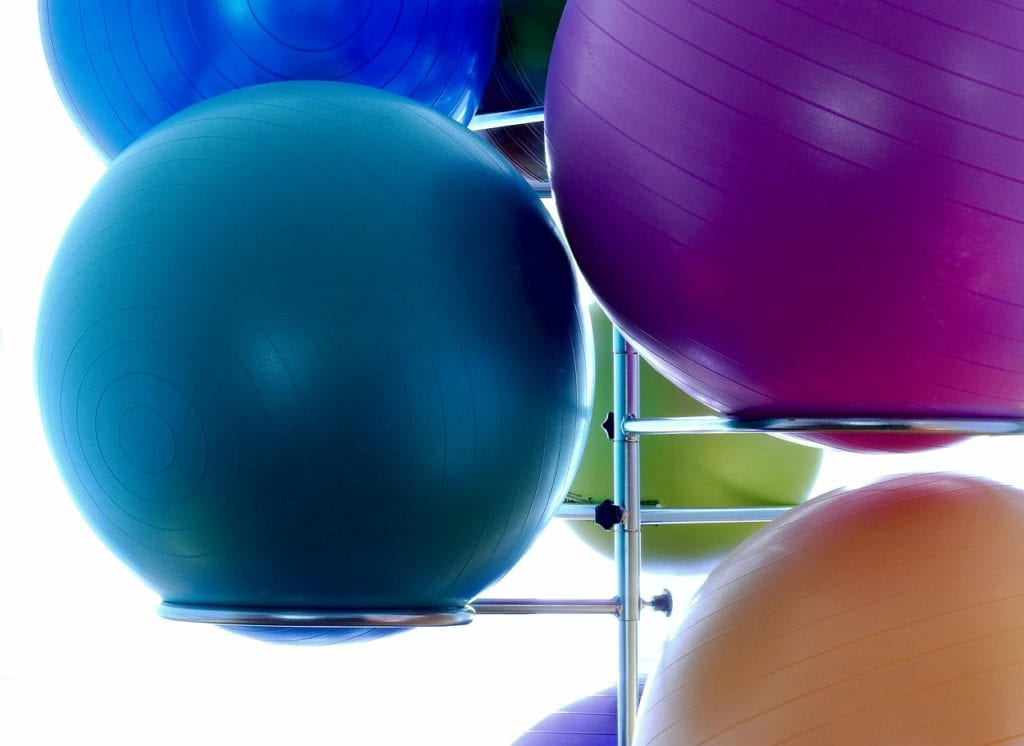 multiple of the best exercise balls