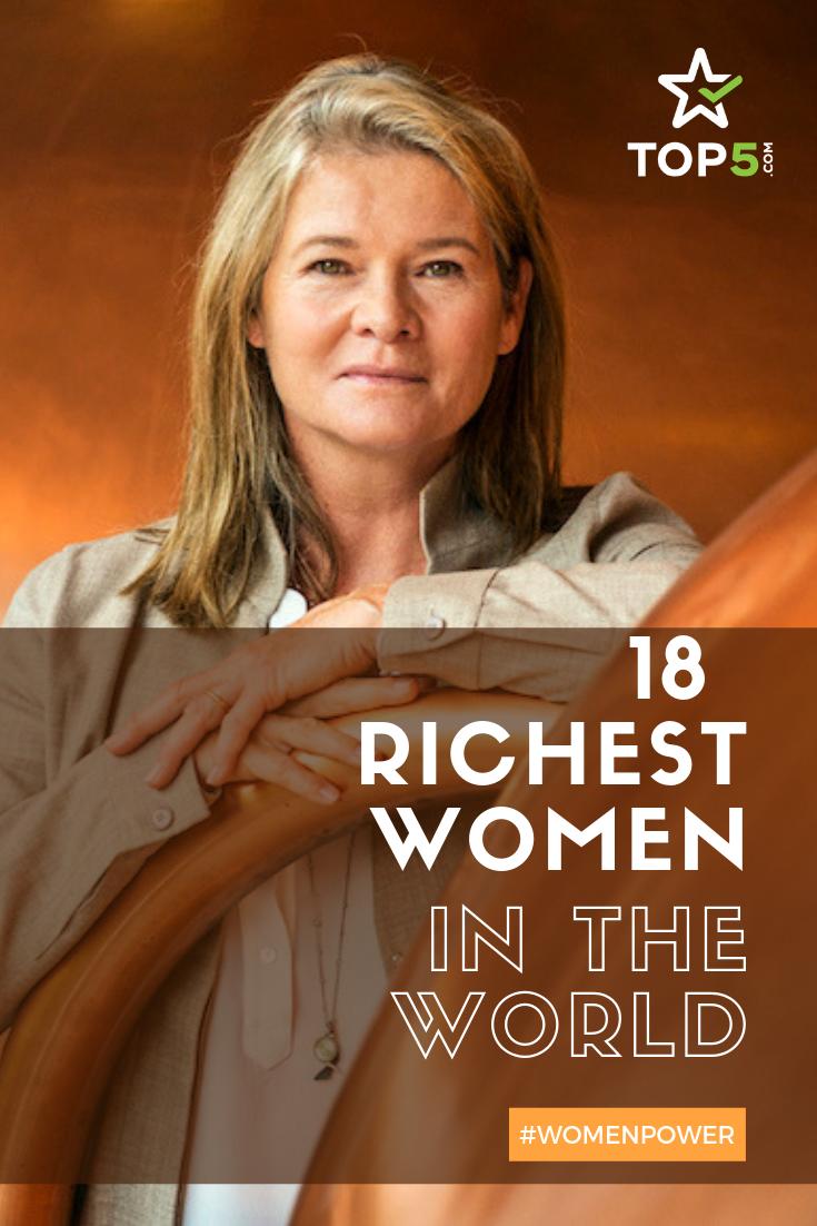 richest women pinterest