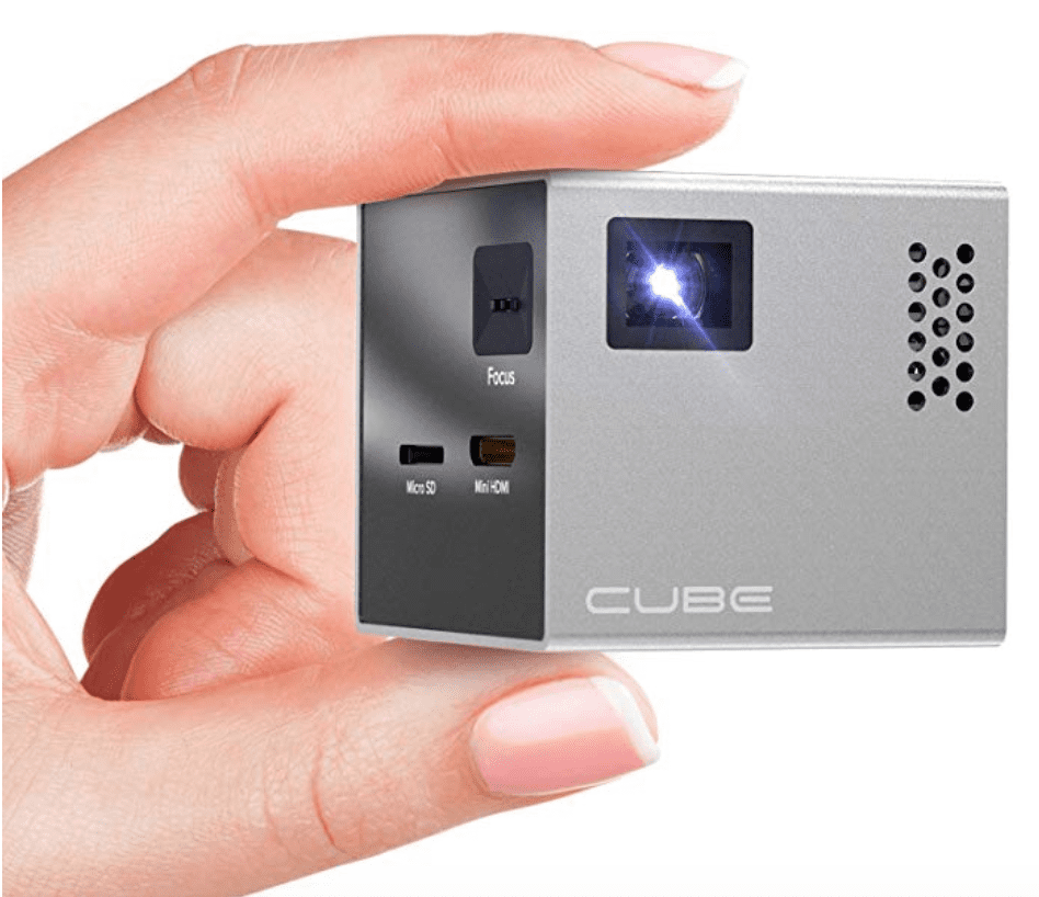 rif6 cube full led mini projector