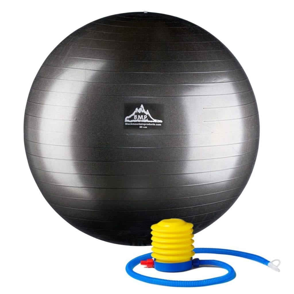 the best exercise ball black mountain