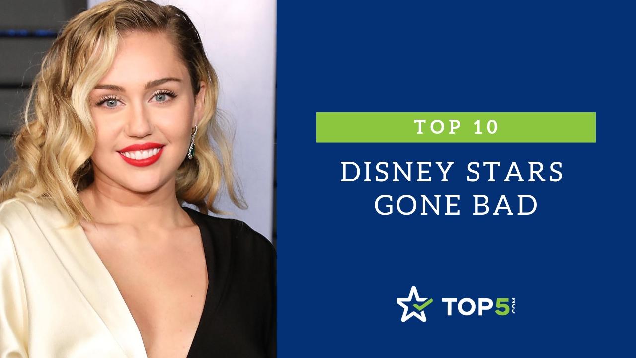top 10 disney stars gone bad