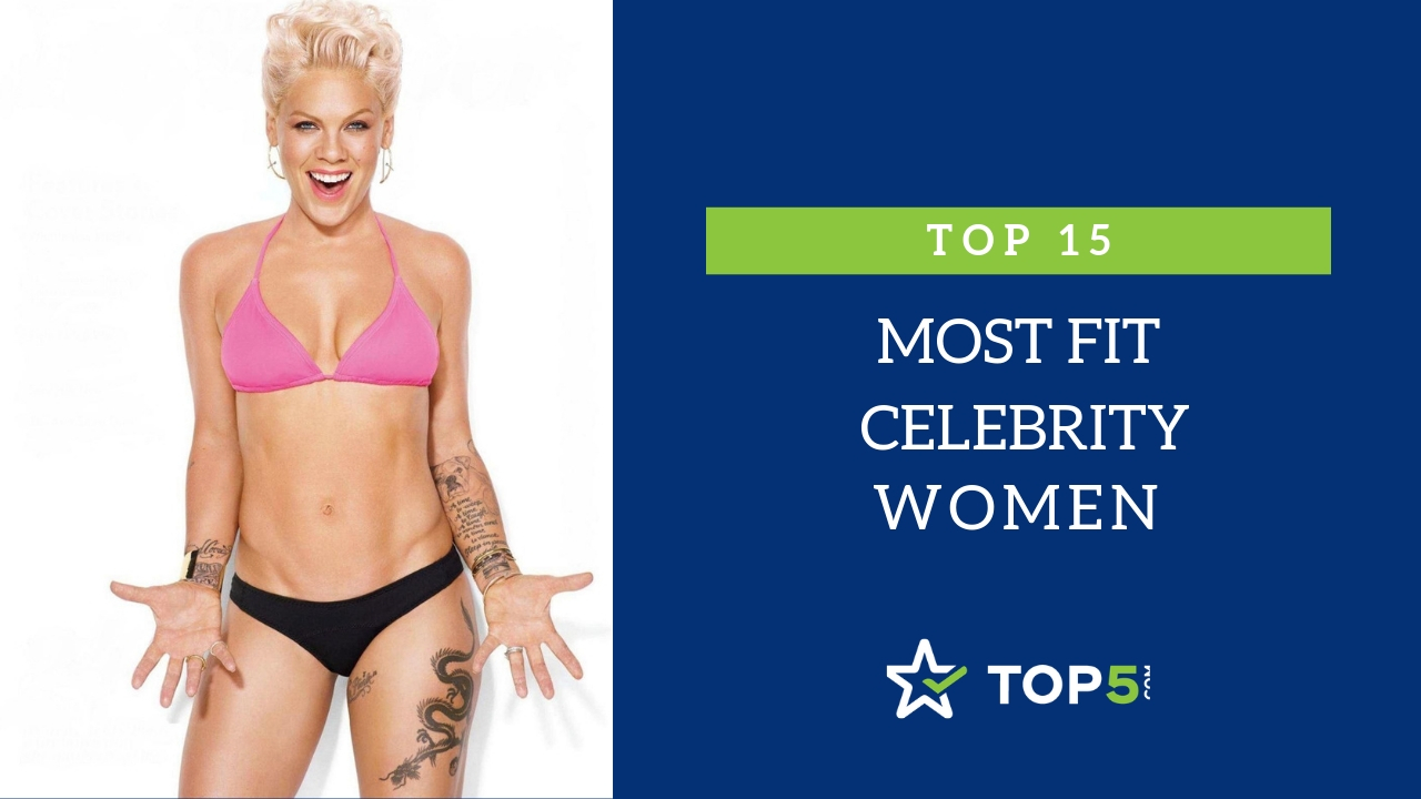 top 15 most fit celebrity women