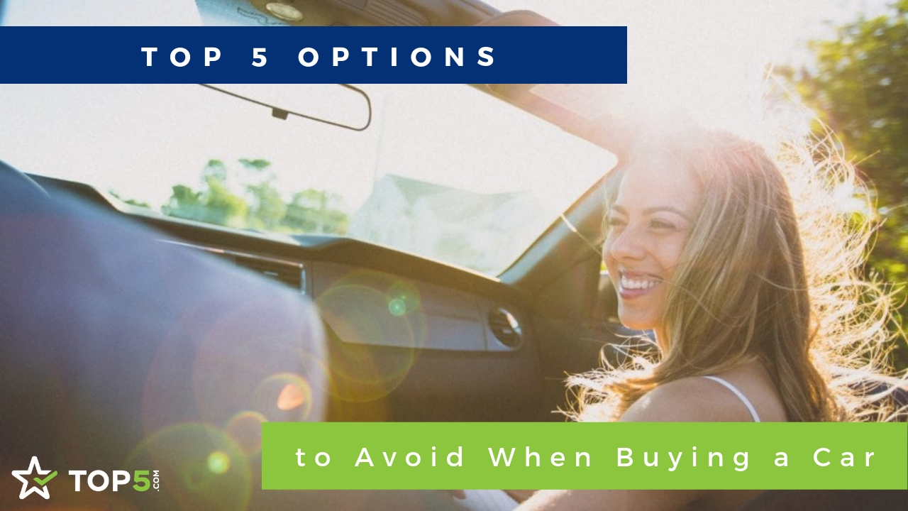 top 5 options to avoid when buying a car