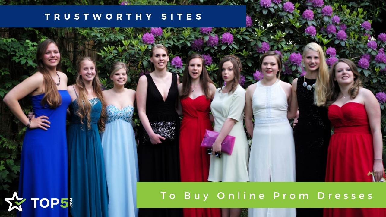 trustworthy sites to buy online prom dresses