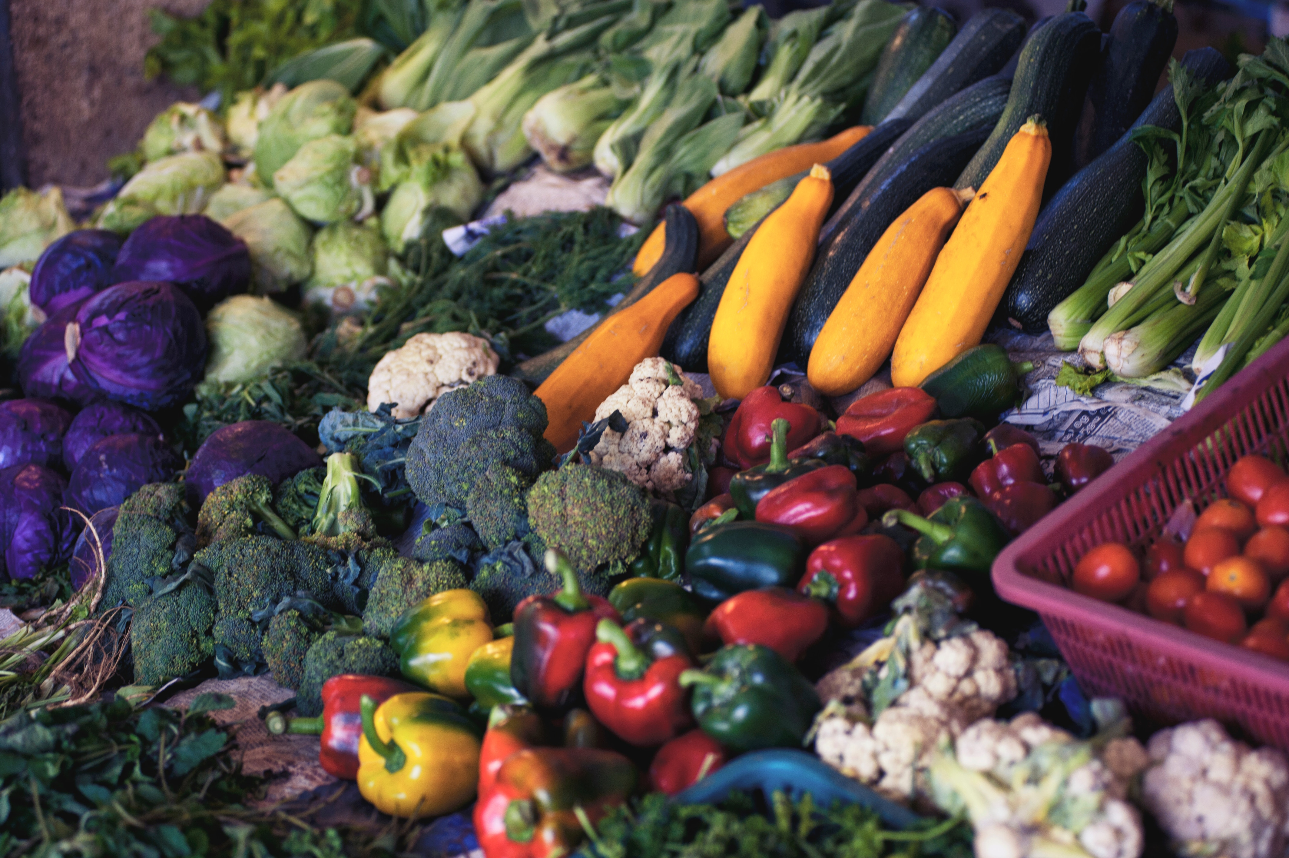 vegetables and healthy food