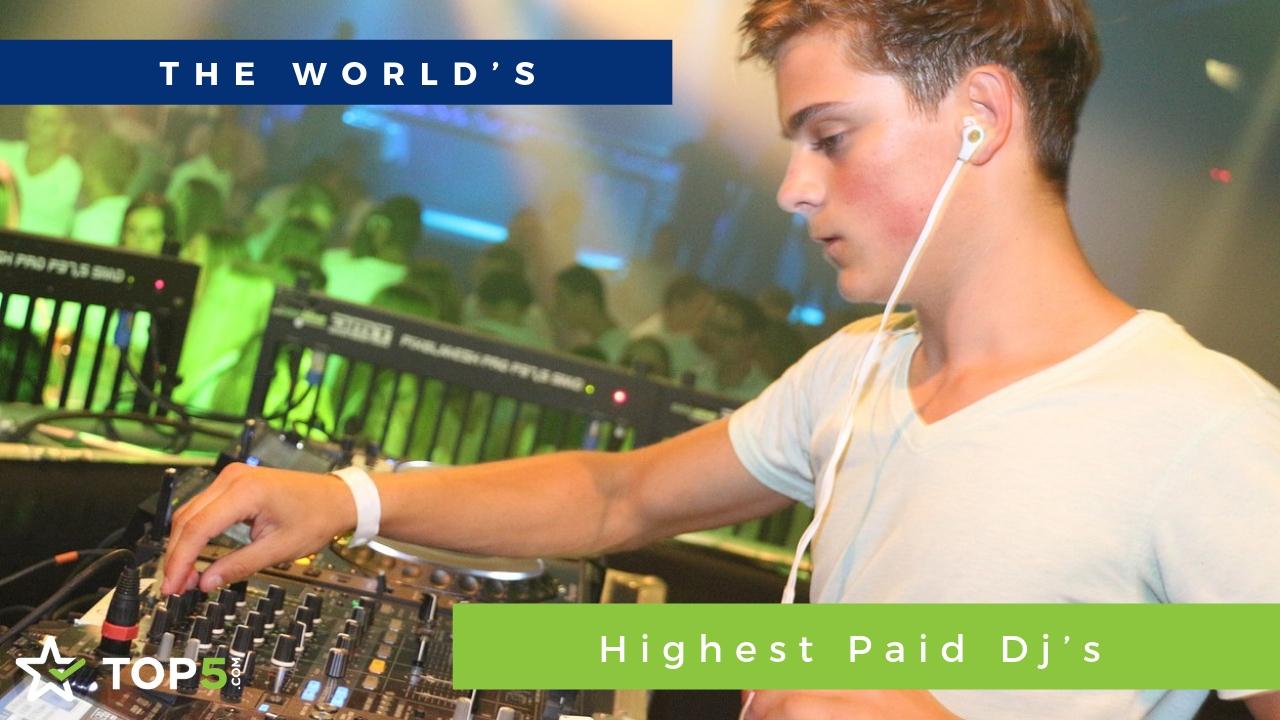 world's highest paid dj's