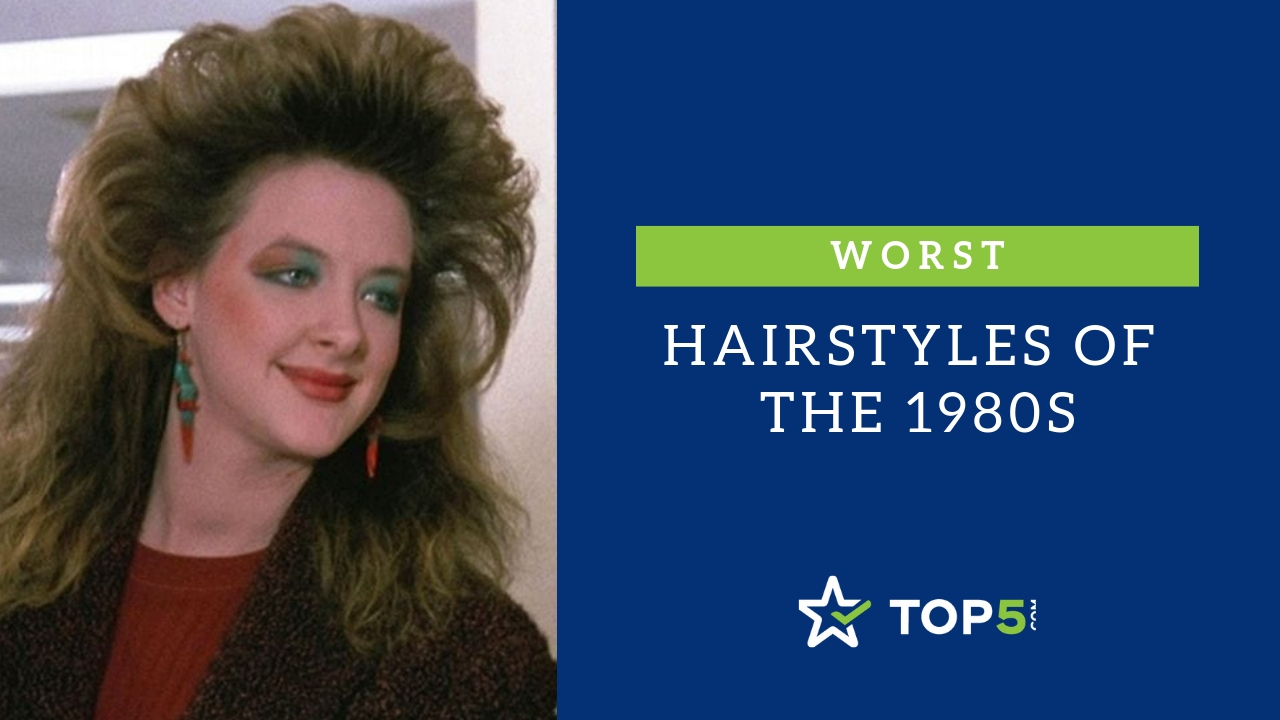 worst hairstyles of the 1980s