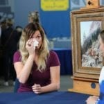 Woman Tears Up When They Tell Her What Grandma's Painting Is Really Worth
