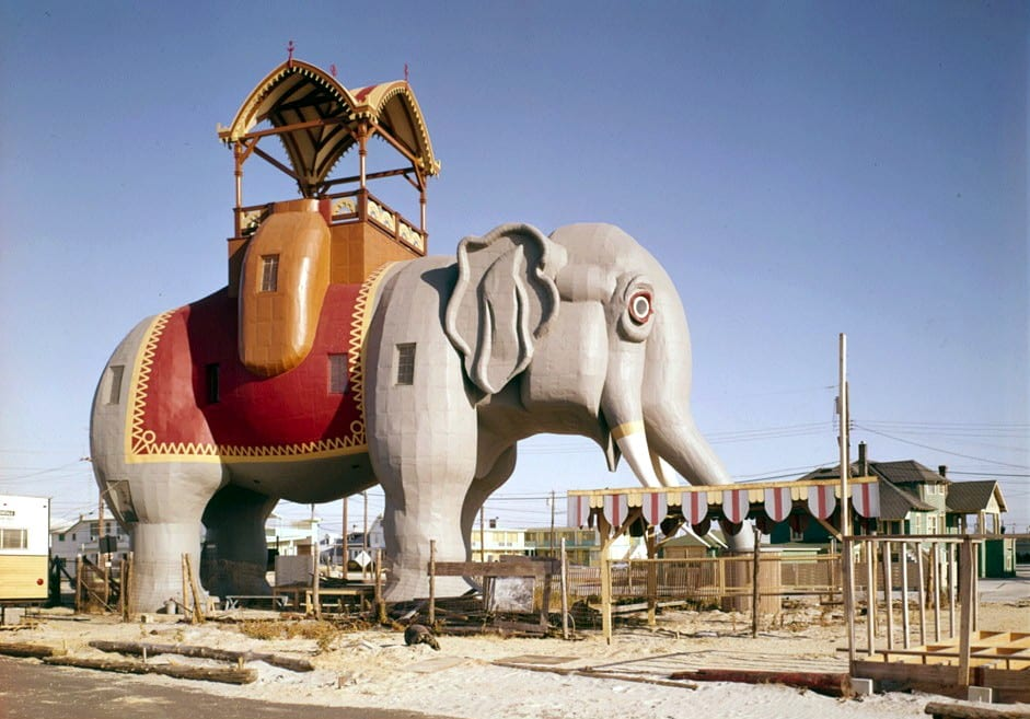 lucy the elephant hotel, new jersey