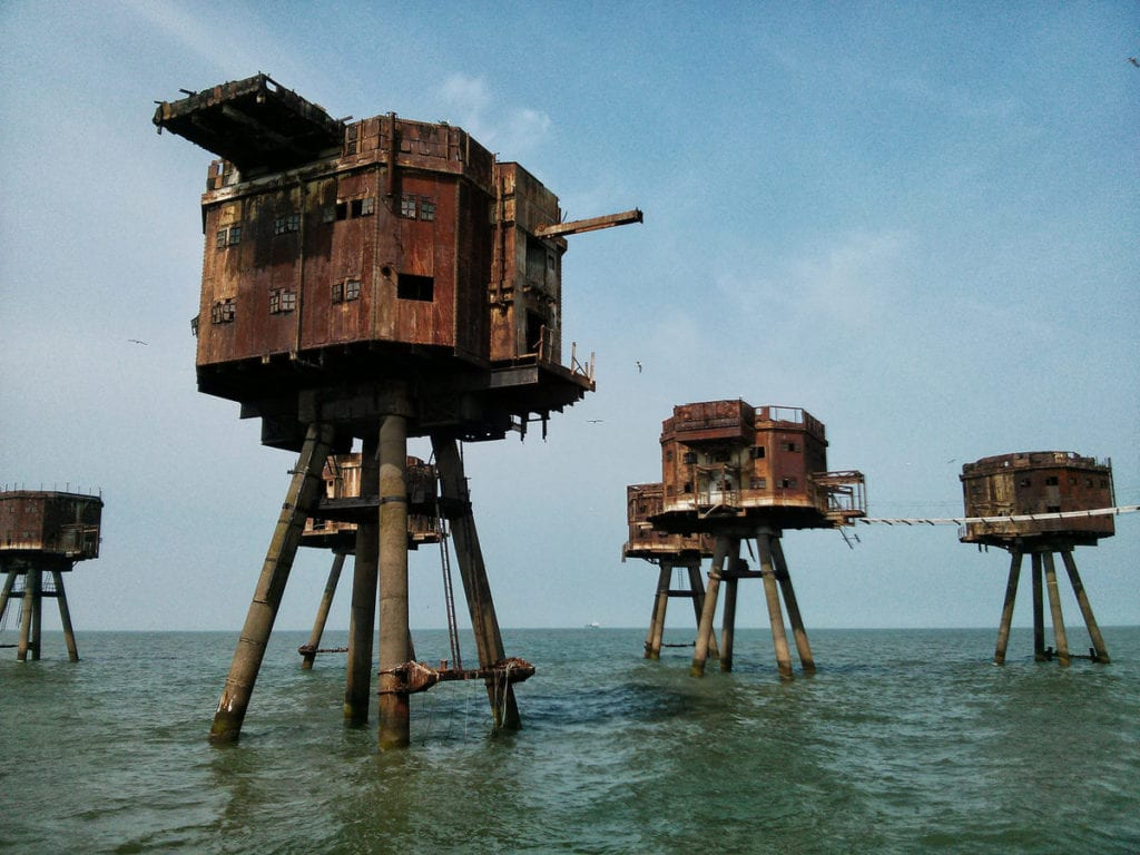 maunsell sea forts, england