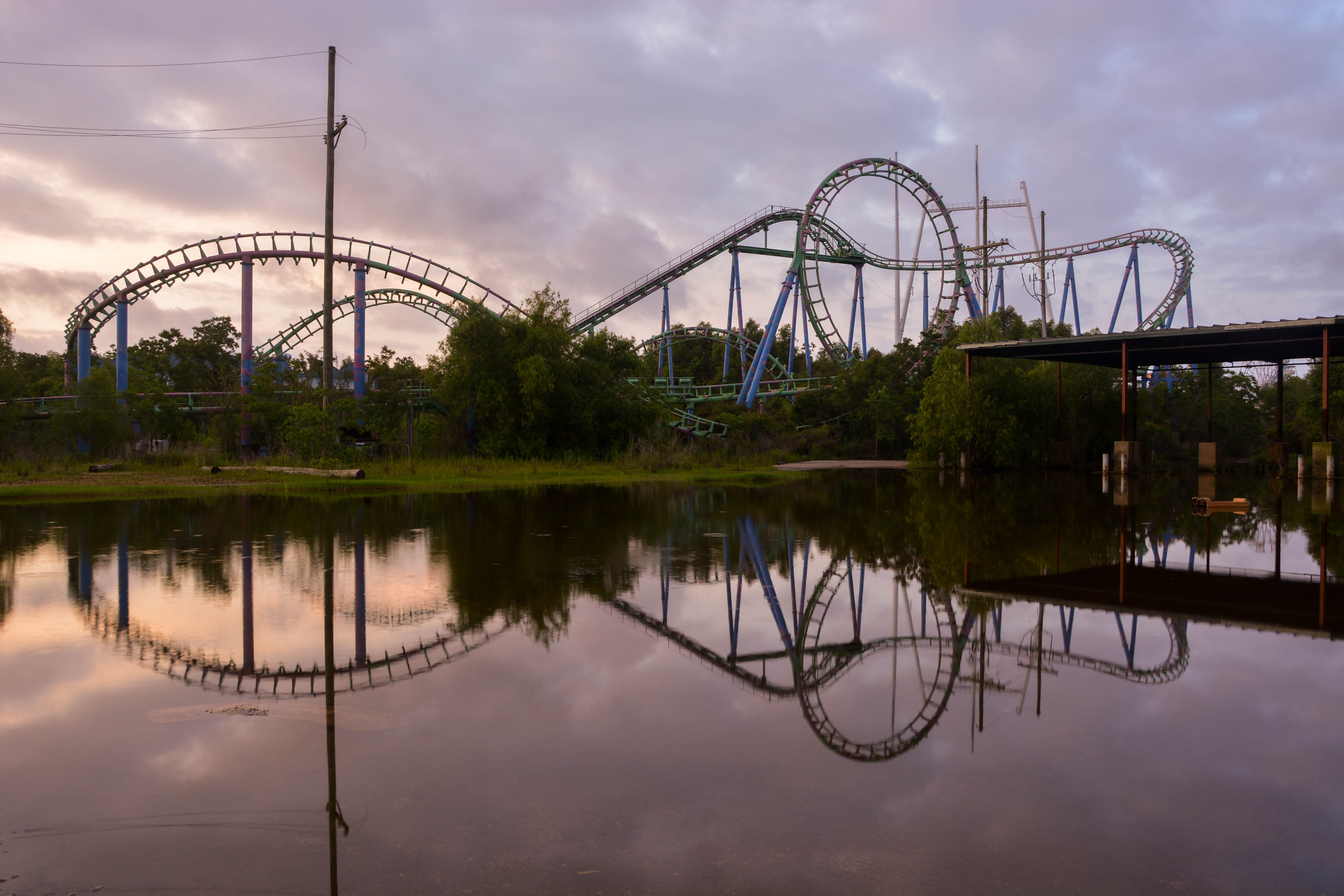 abandoned places six flags new orleans