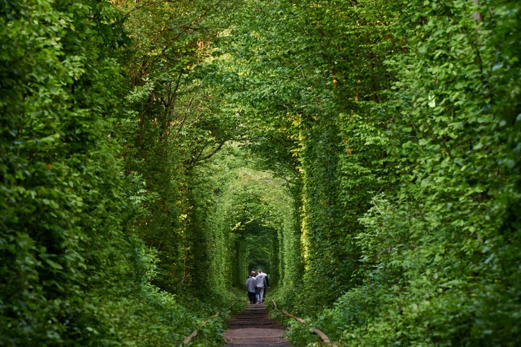 abandoned places the tunnel of love, ukraine