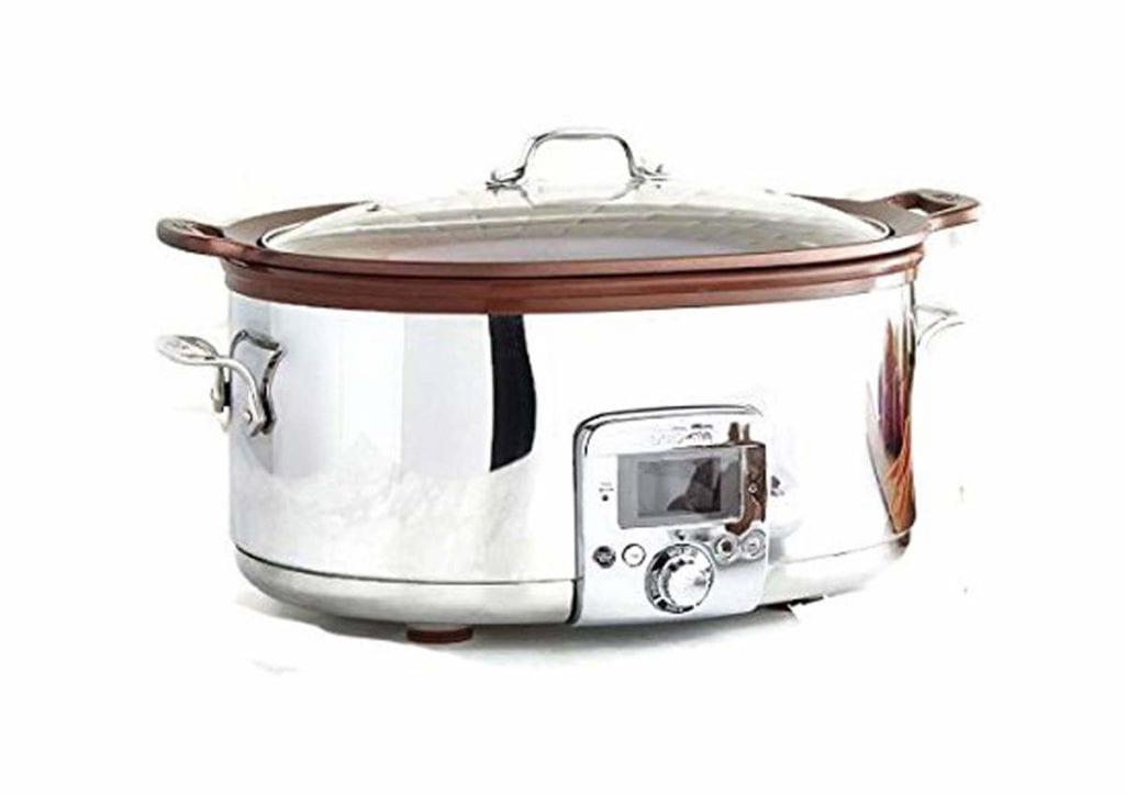 all clad 7 quart gourmet slow cooker