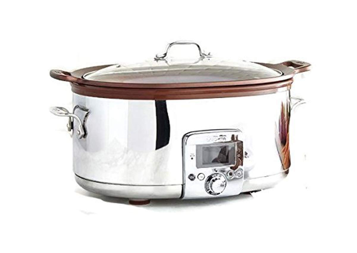all clad 7 quart gourmet slow cooker