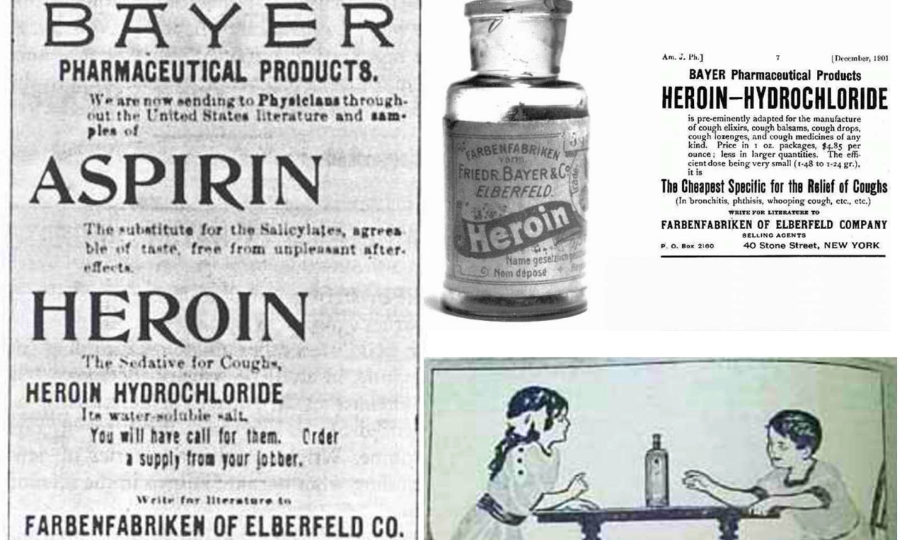 Heroin used in ancient medical practices