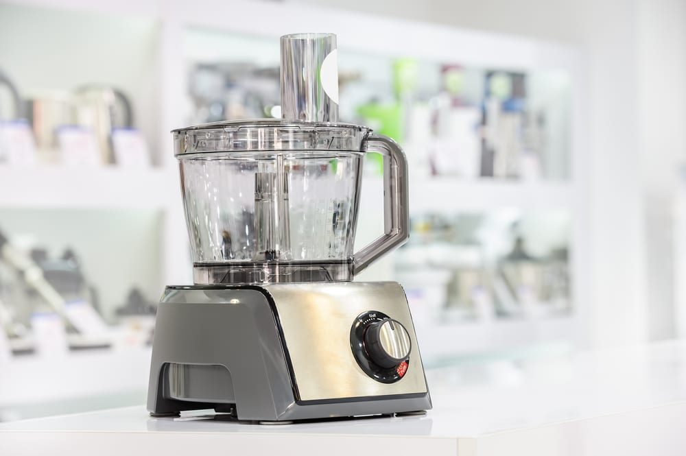 food processor isolated