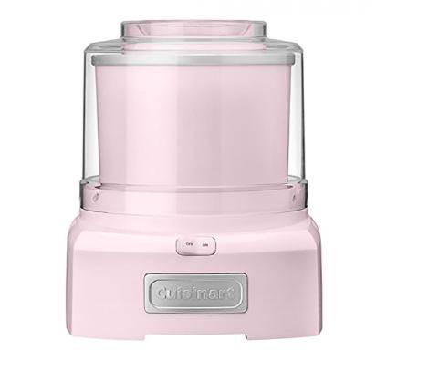 pink frozen yogurt maker