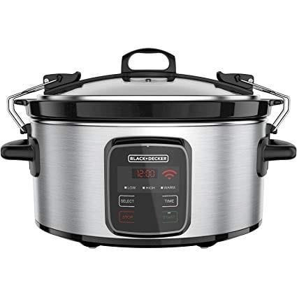 Black + Decker Wifi Enable Slow Cooker
