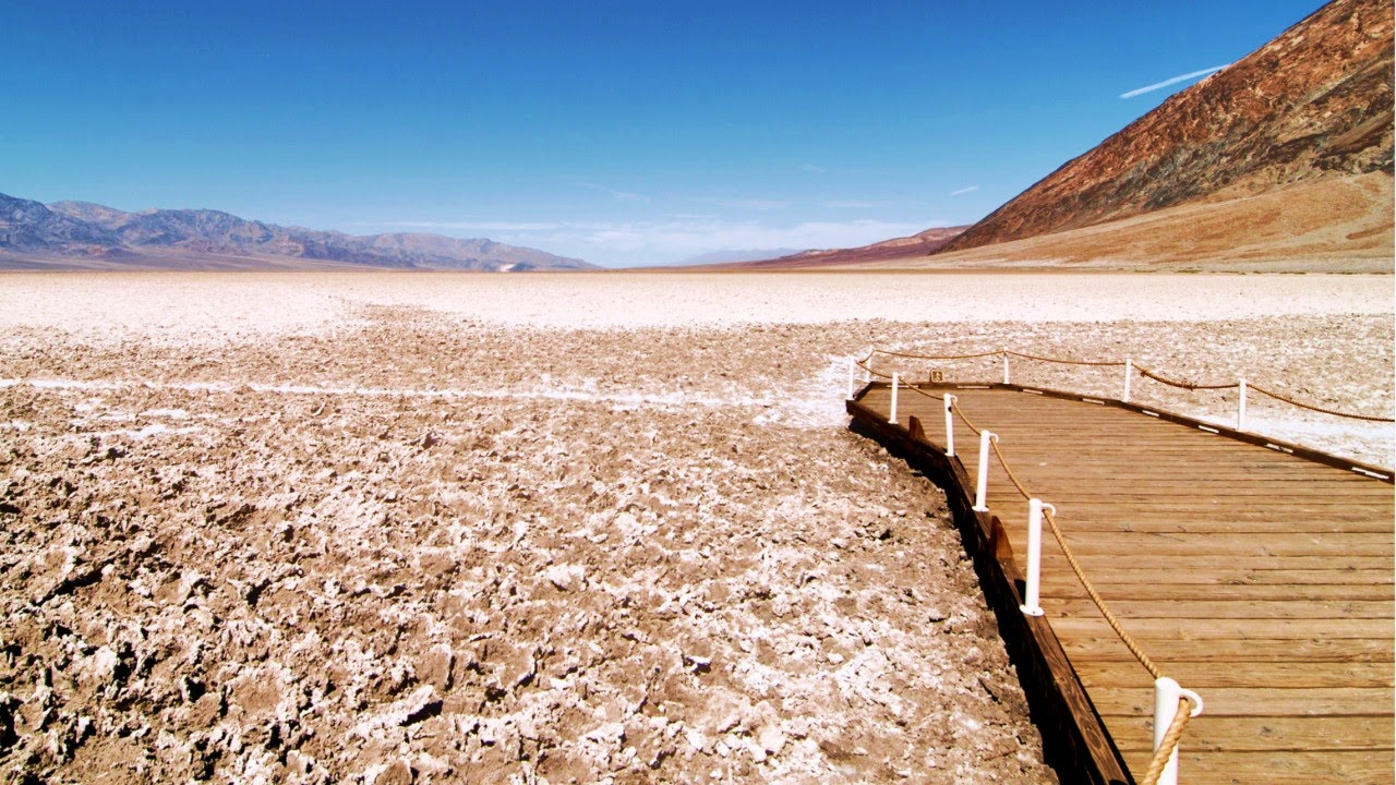 Death Valley among extreme places