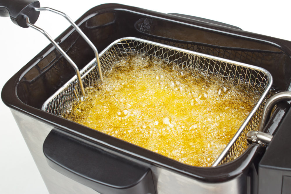 Deep Fryer Cooking Fries