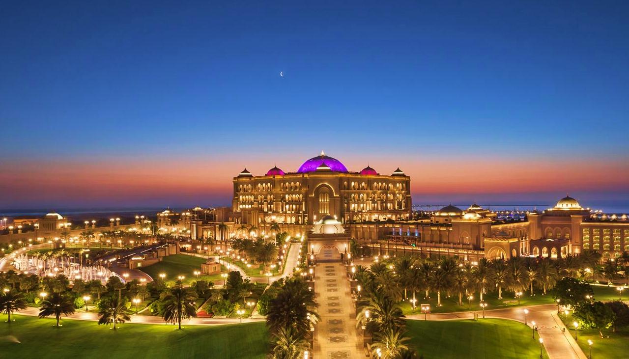 Emirates Palace Lavish Buildings