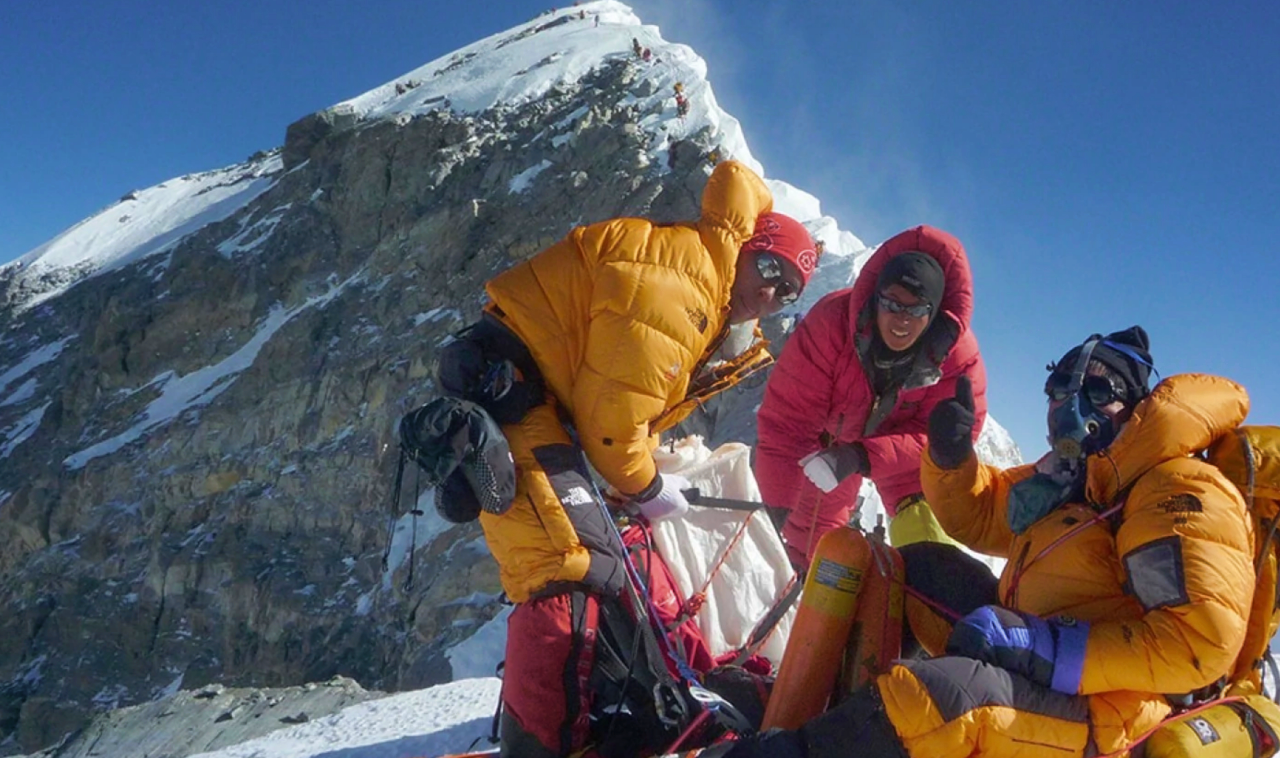 Mt. Everest among extreme places