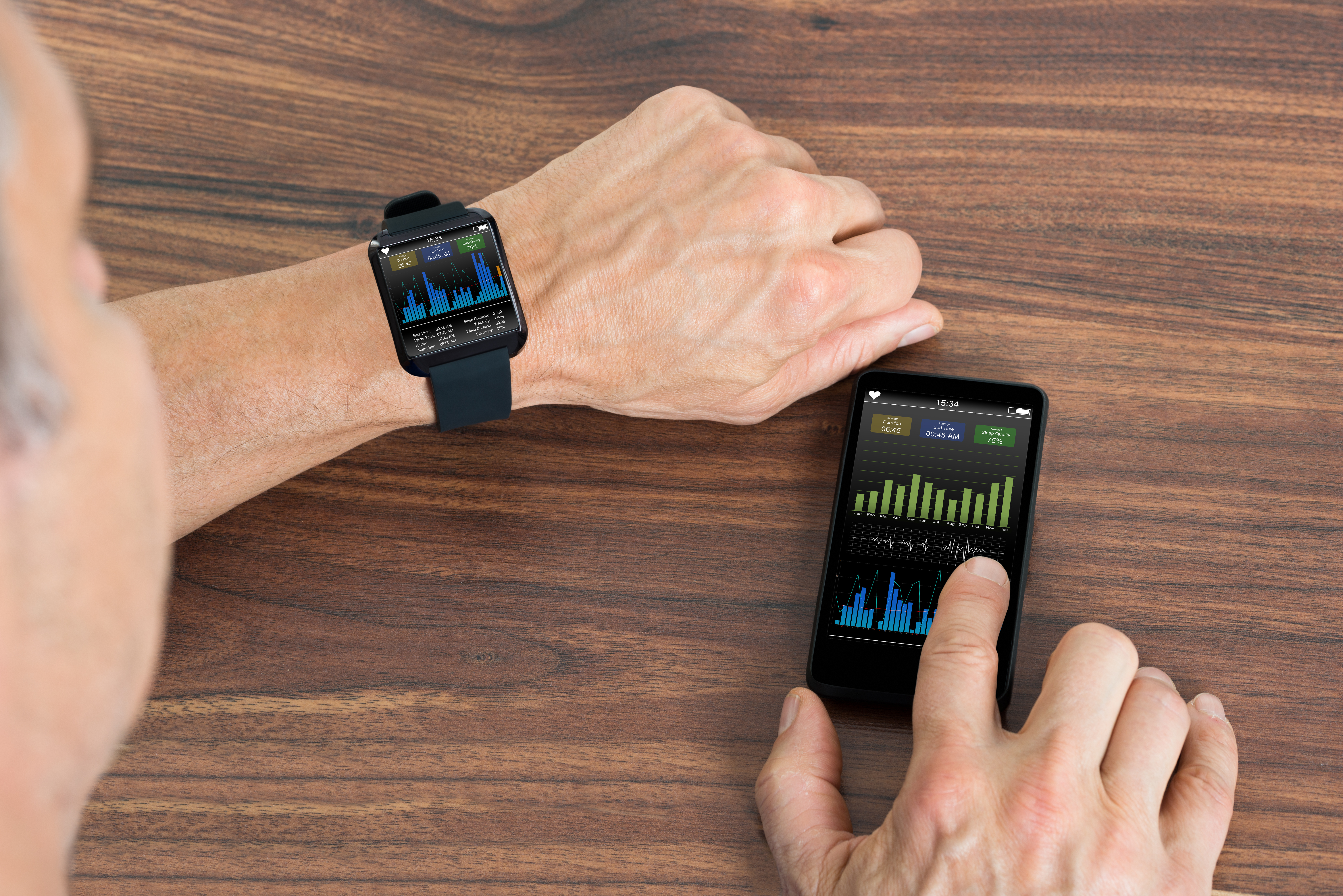 fitness tracker connectivity