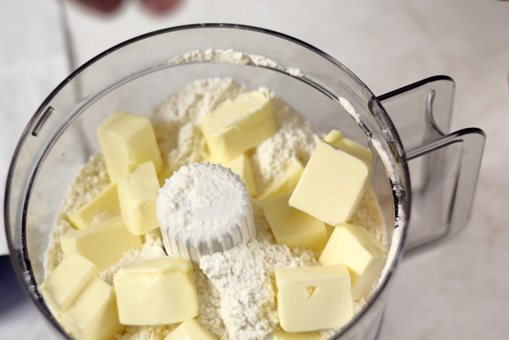 flour butter mix food processor uses