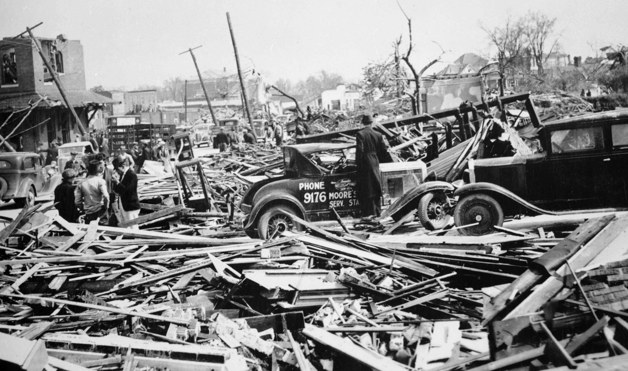 Gainesville among most destructive tornadoes
