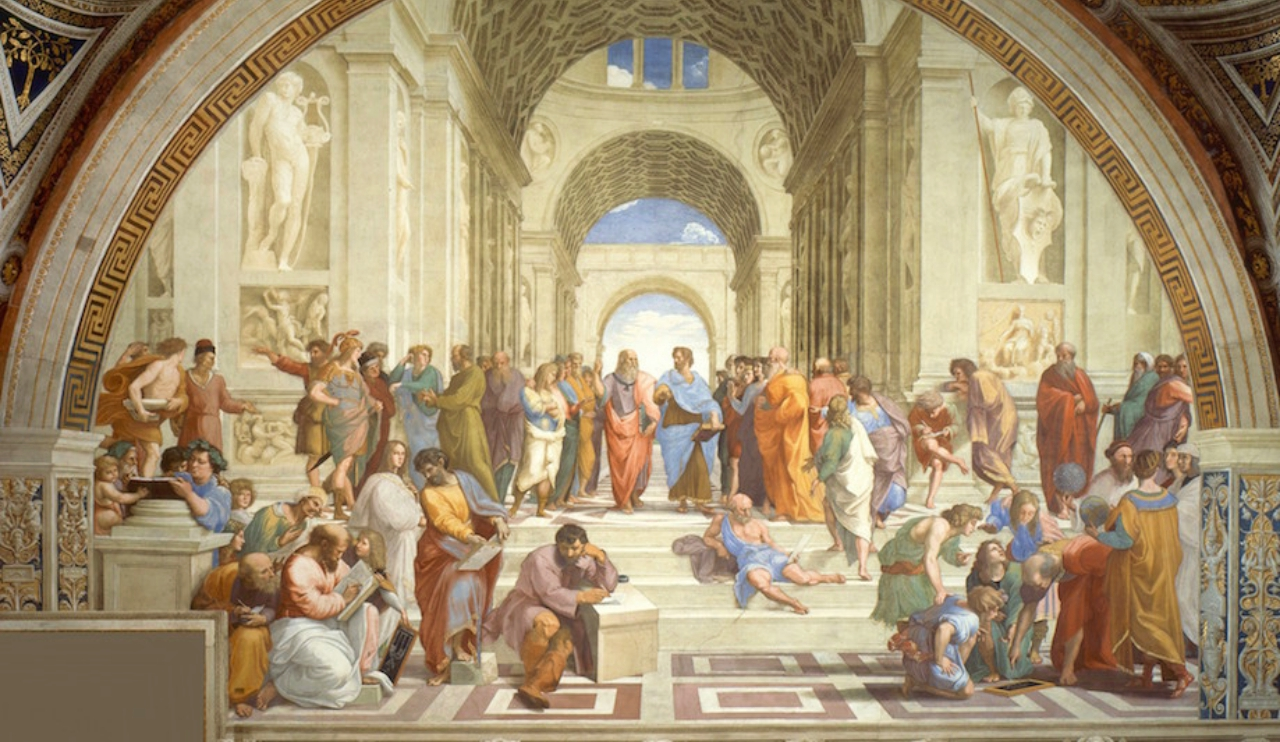 Greek Symposiums among ridiculous parties
