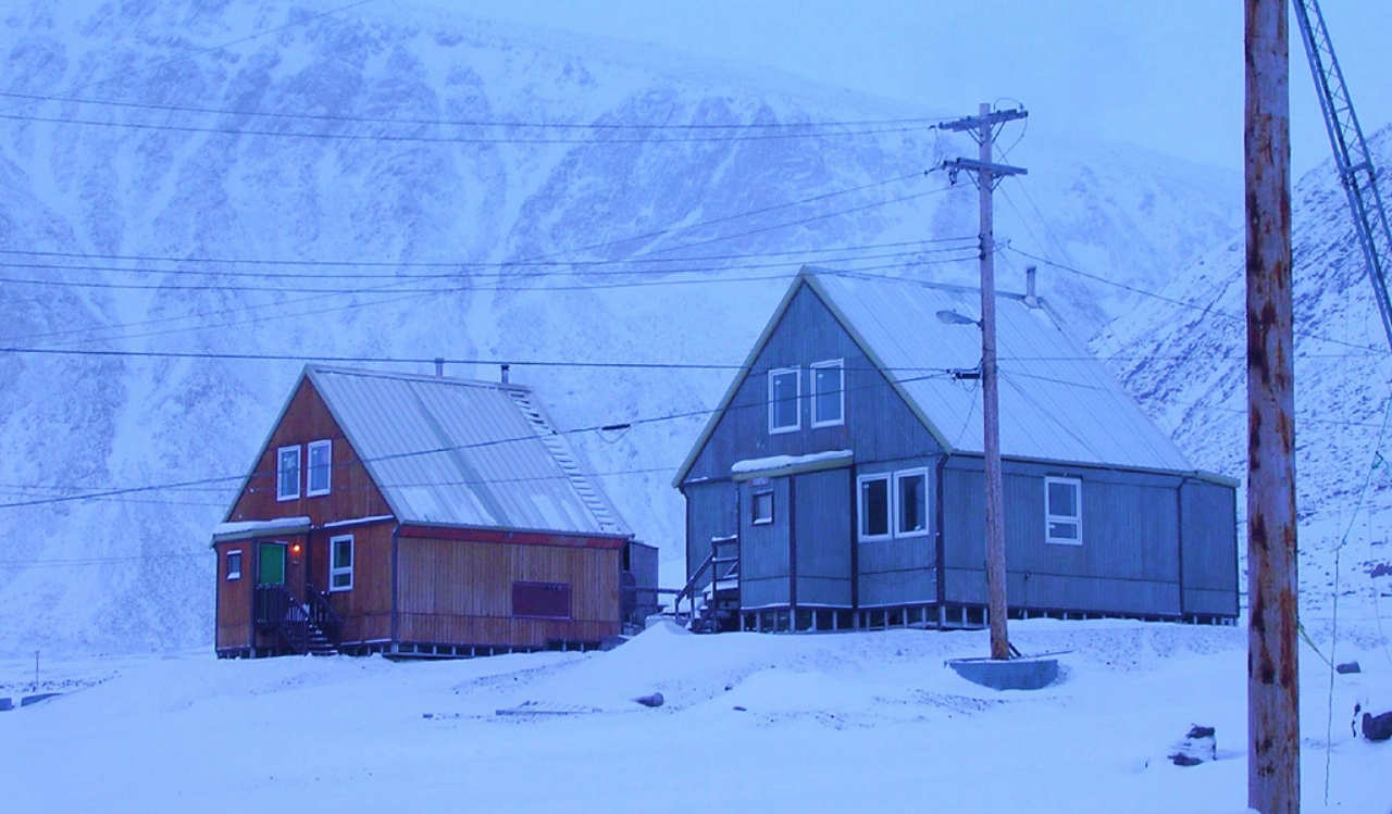 Grise Fiord among extreme places