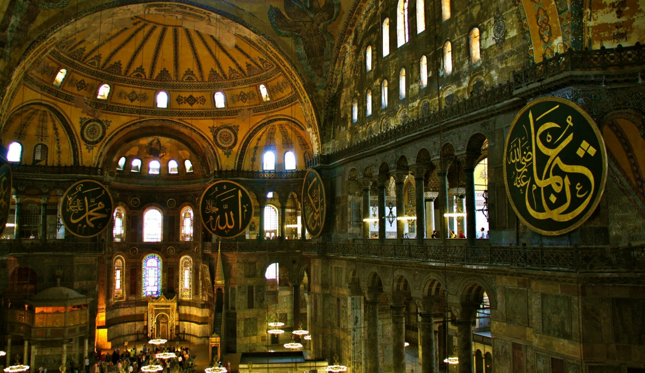 Hagia Sophia lavish buildings