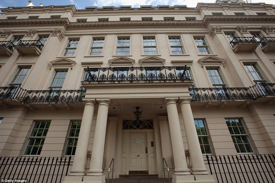 hariri's london mansion