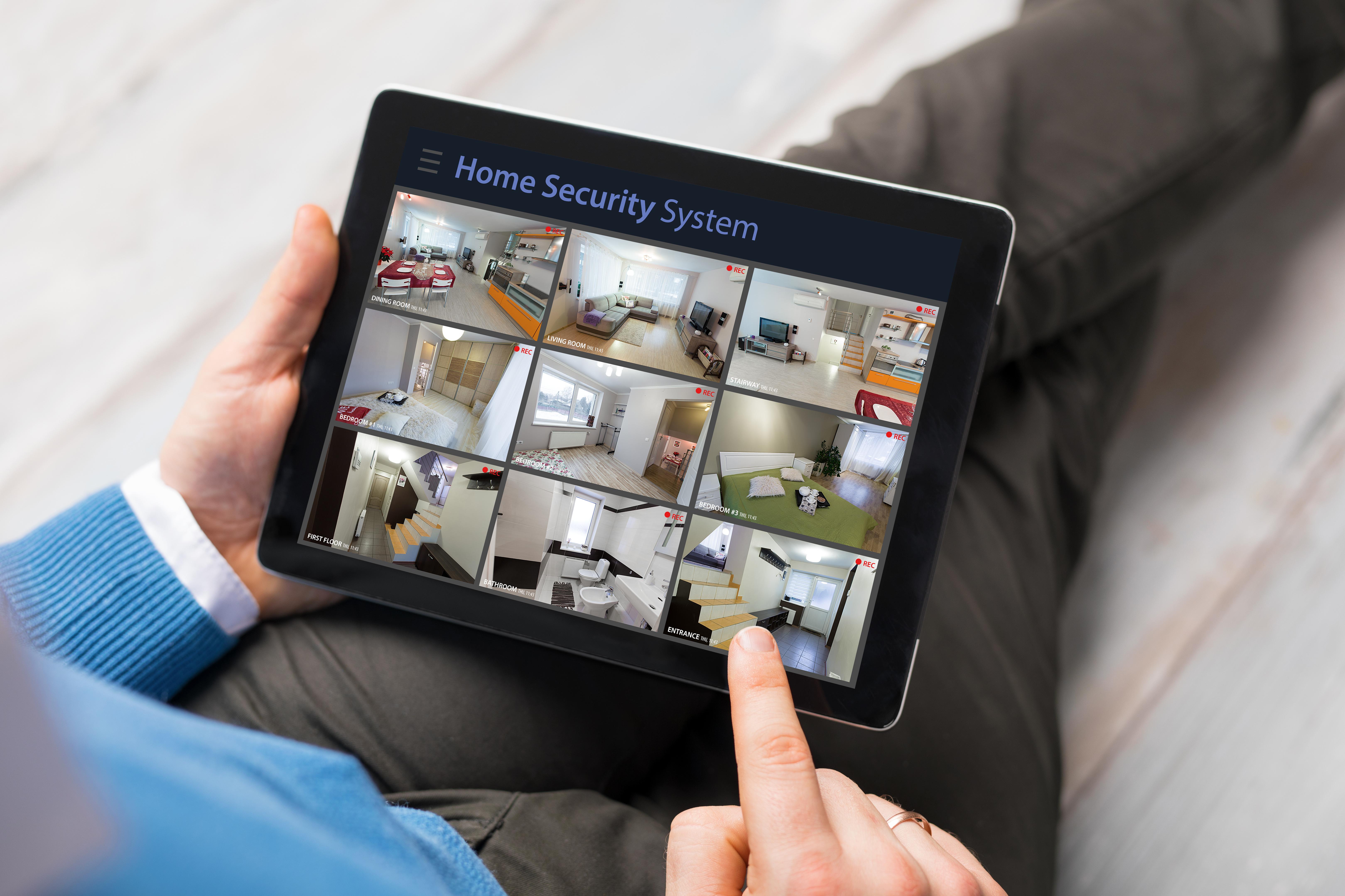 home security system cameras
