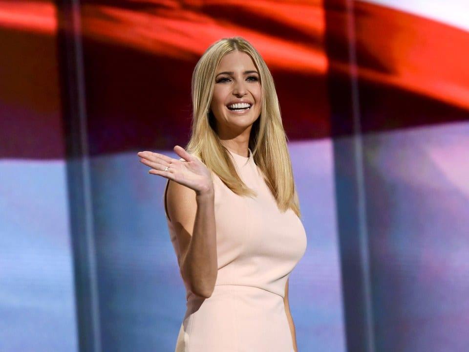 ivanka trump hottest female reality tv stars