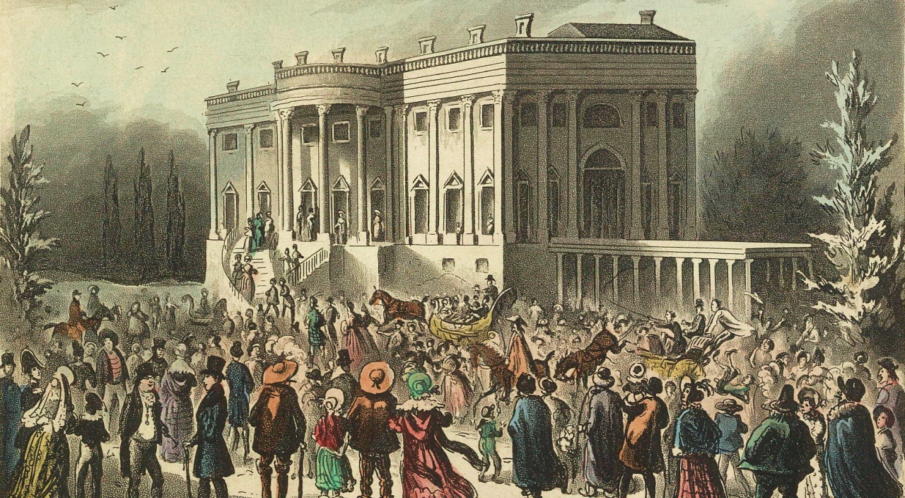 1829 inauguration among ridiculous parties