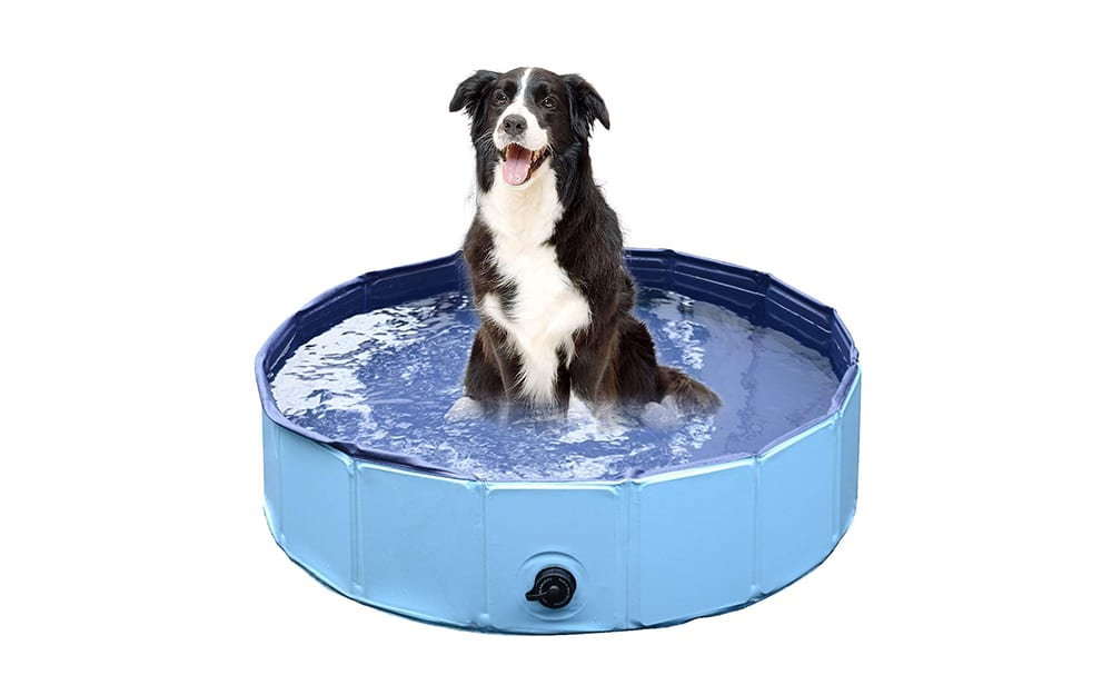 jasonwell foldable dog pet bath pool collapsible dog pet pool