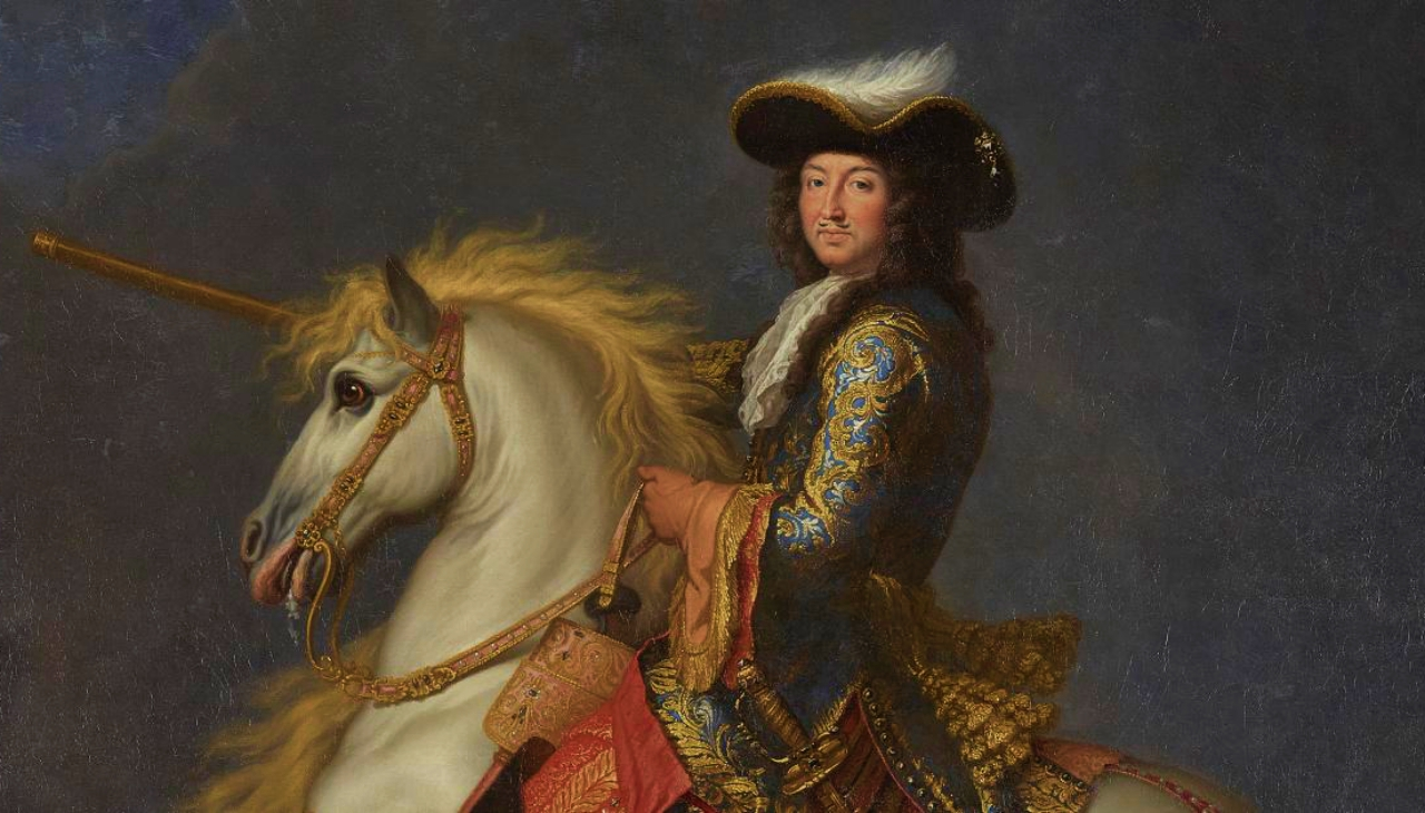 Louis XIV parties among ridiculous parties