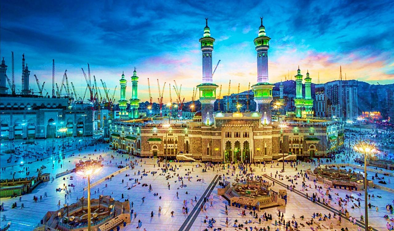 Mecca Mosque lavish buildings