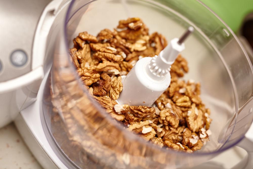 nuts food processor uses