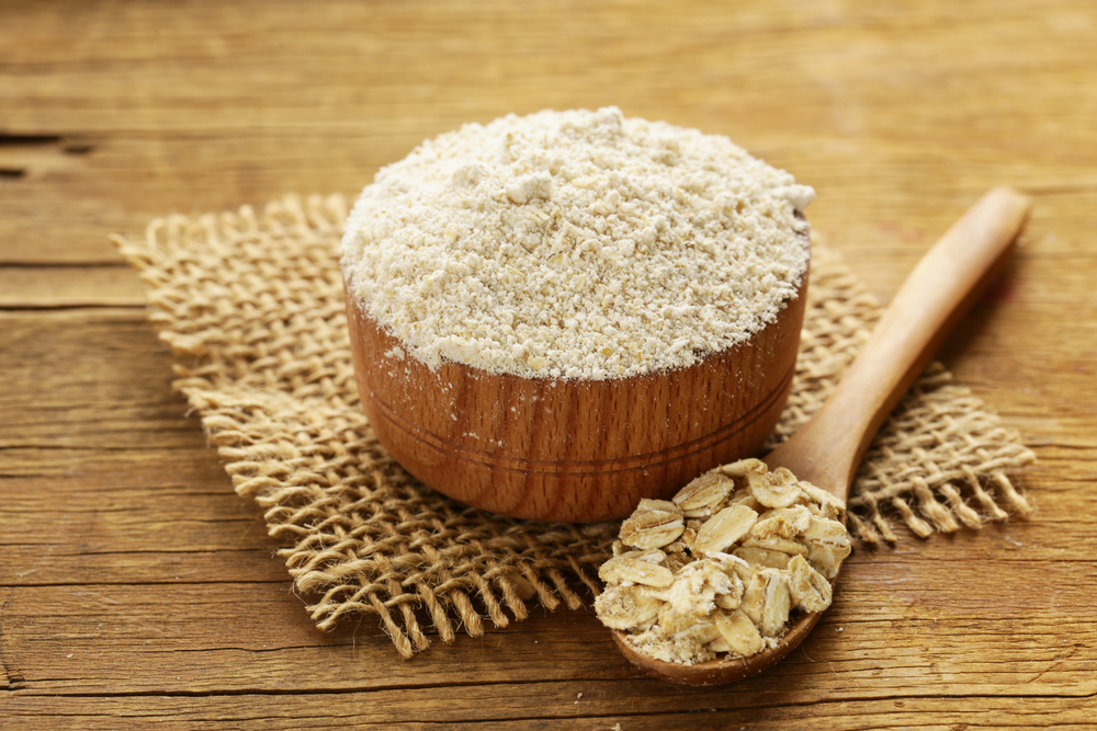 oat flour as food processor uses