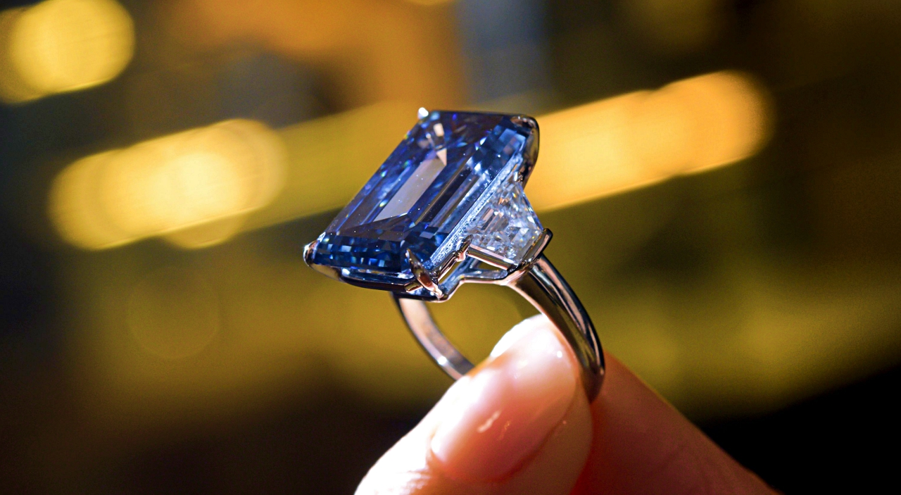 Oppenheimer Blueamong most expensive jewels
