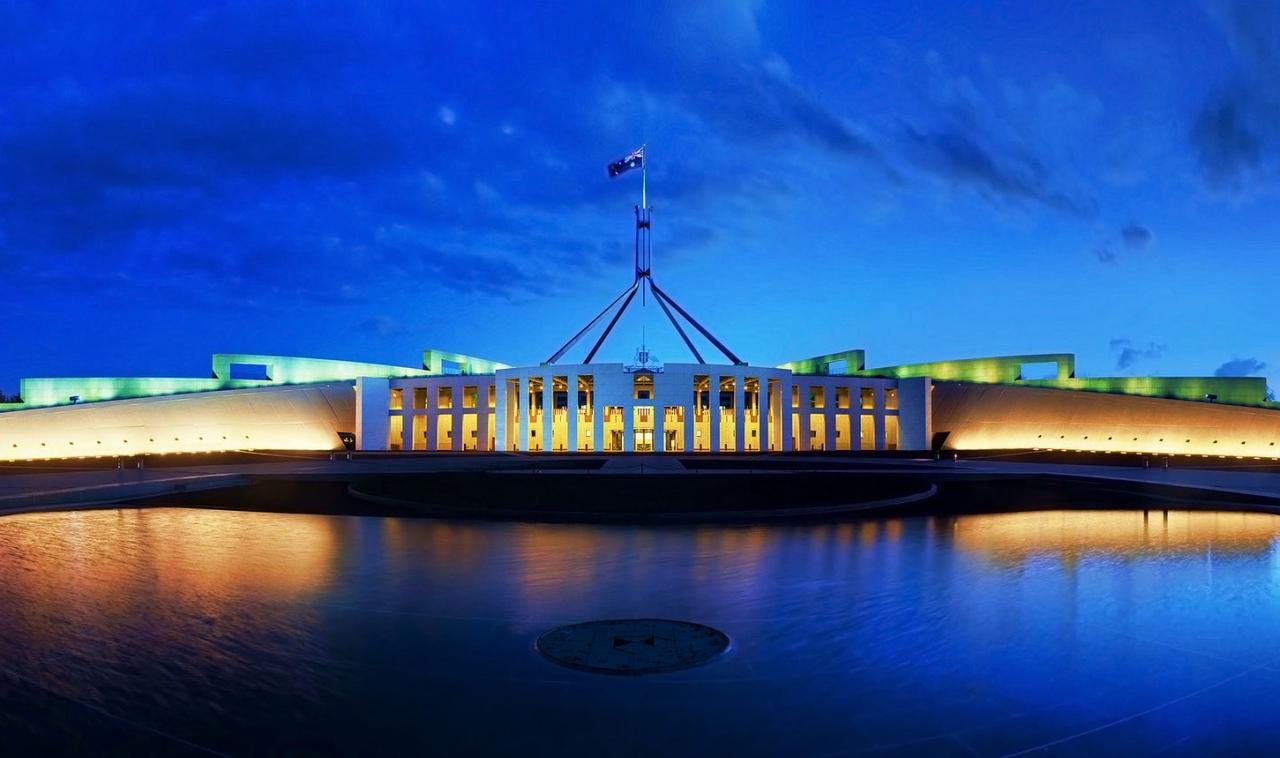 Australian Parliament House lavish buildings